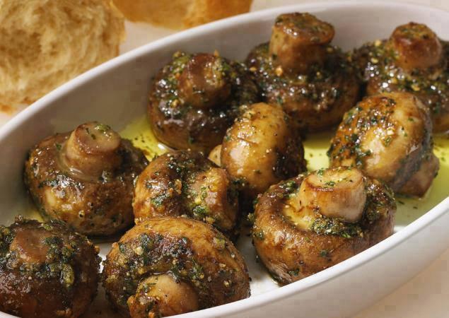 Rosted Garlic Mushrooms1