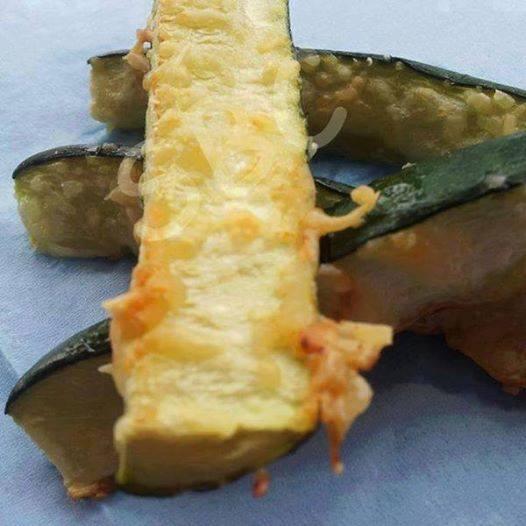 Oven Baked Zucchini Bites